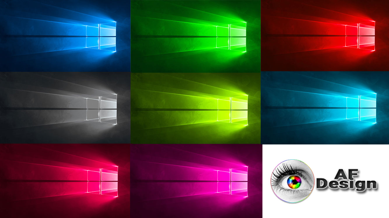 Windows 10 Color Mode Wallpaper