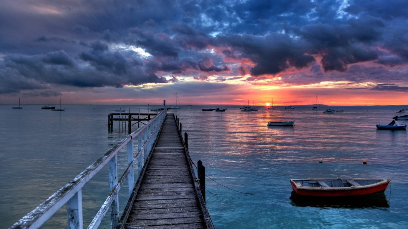 Wallpaper Iphone 6 Plus Ocean View Reflection Colorful Boat Sea Beautiful 1358498 Hd Wallpaper Backgrounds Download