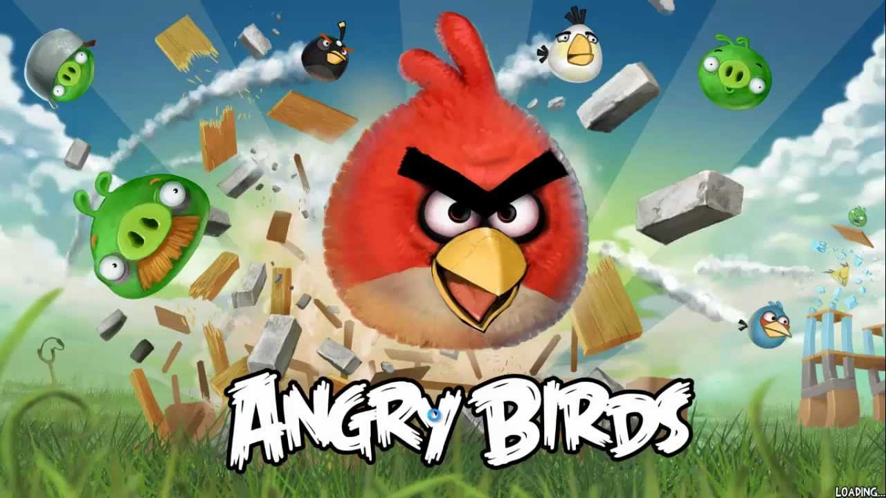 Angry Birds Wallpaper Free Download For Pc - Angry Birds Pc Game Download , HD Wallpaper & Backgrounds
