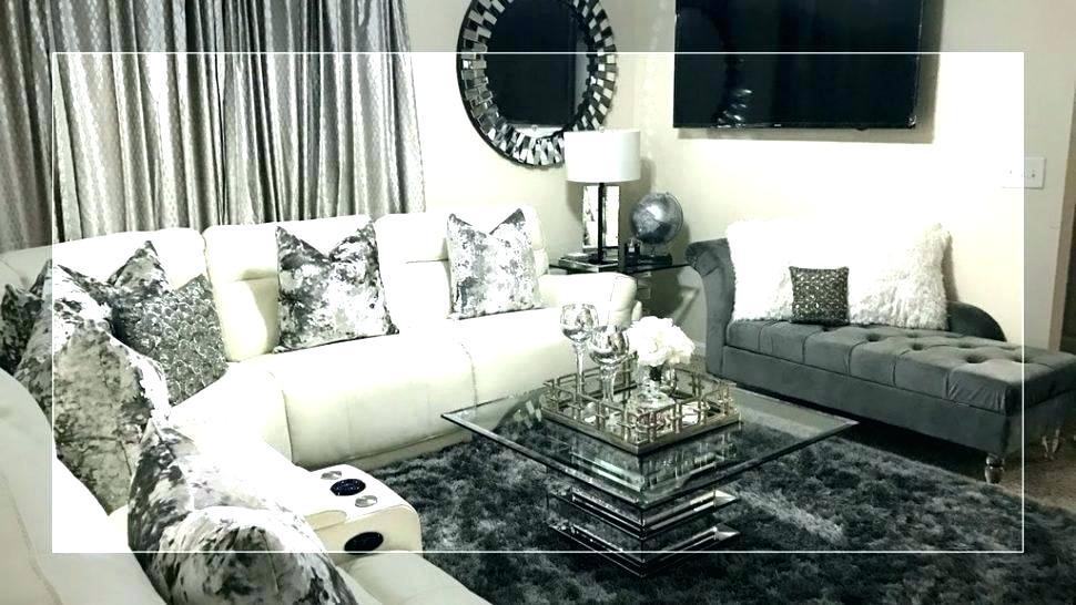Old Hollywood Themed Room Glamour Decor Design Modern Black Glam Livinf Room 1360479 Hd Wallpaper Backgrounds Download