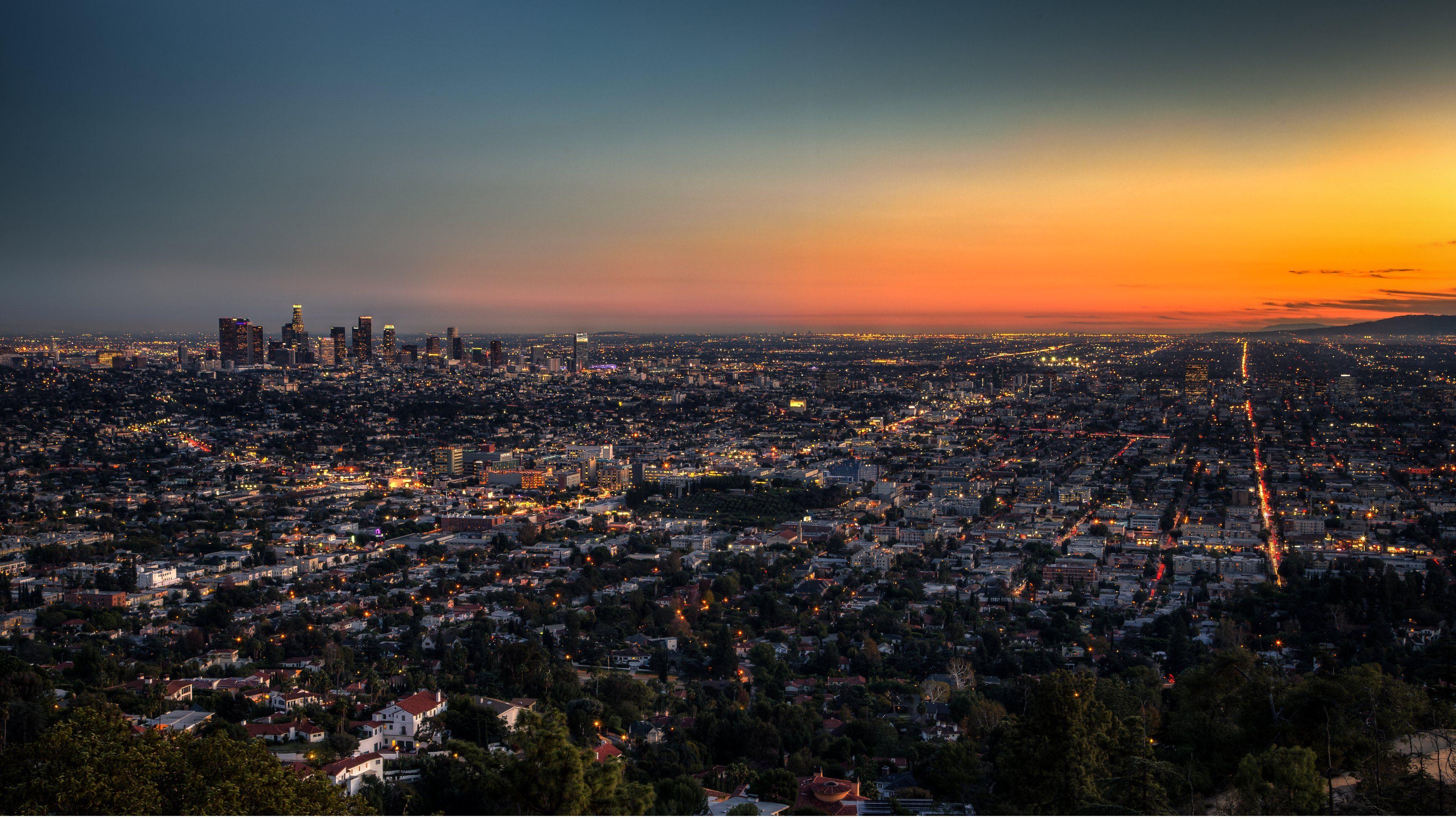 Los Angeles Wallpaper 4k , HD Wallpaper & Backgrounds