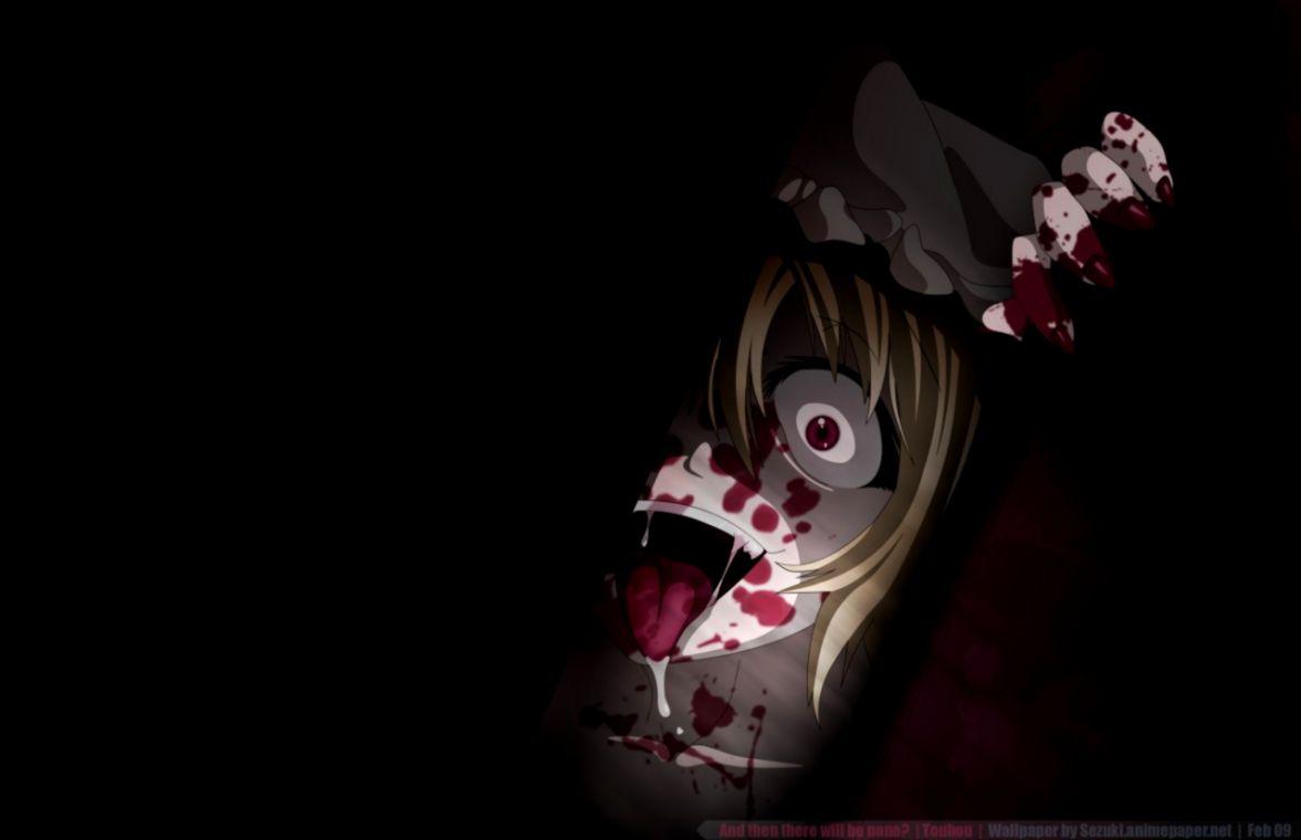 Dark Anime Girl Id - Dark Anime Girl , HD Wallpaper & Backgrounds