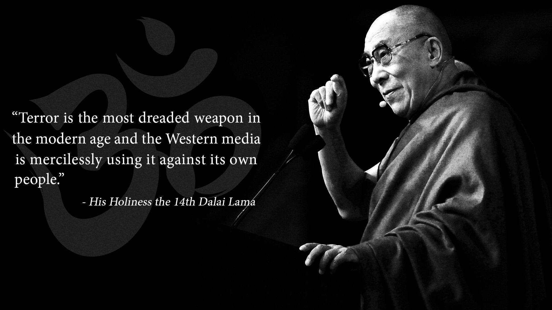 Dalai Lama Dalai Lama Background Quote 1364543 Hd
