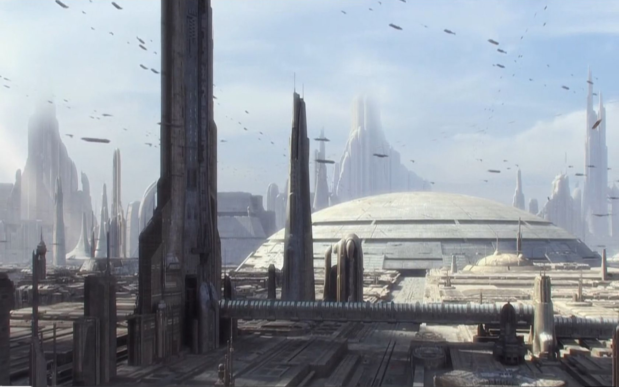 Star Wars Coruscant Background 1366703 Hd Wallpaper Backgrounds Download