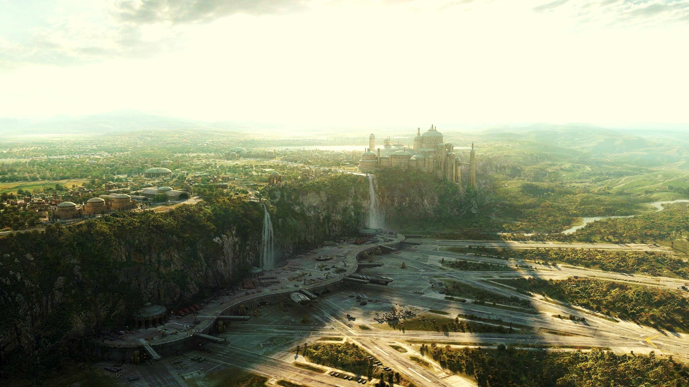 Naboo, Star Wars - Star Wars Naboo Background , HD Wallpaper & Backgrounds