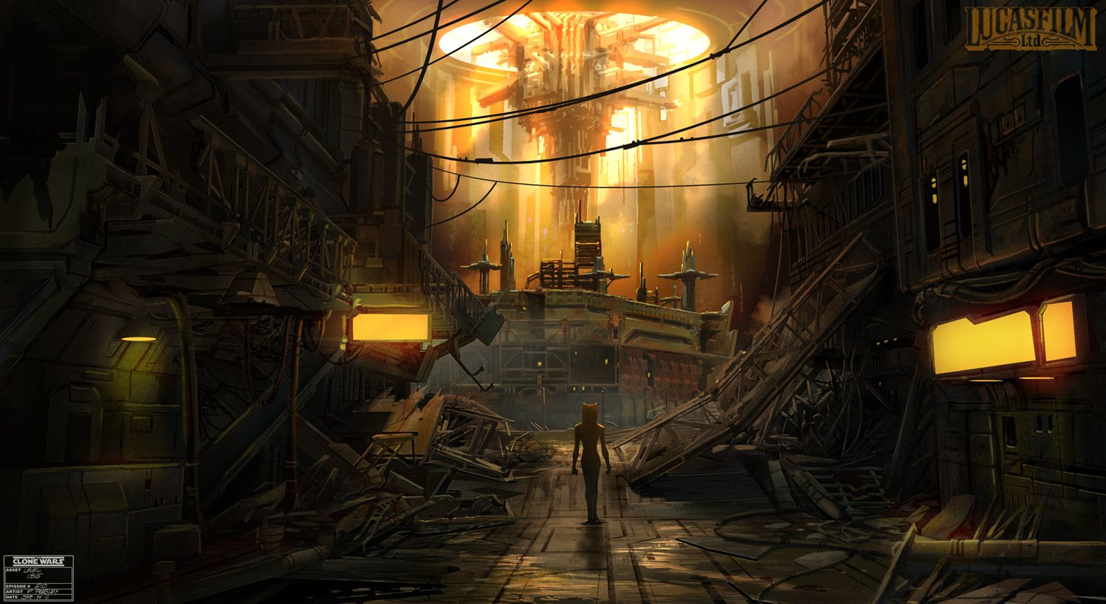 Coruscant Underworld Pat Presley Star Wars Coruscant Underworld Concept Art 1367015 Hd Wallpaper Backgrounds Download