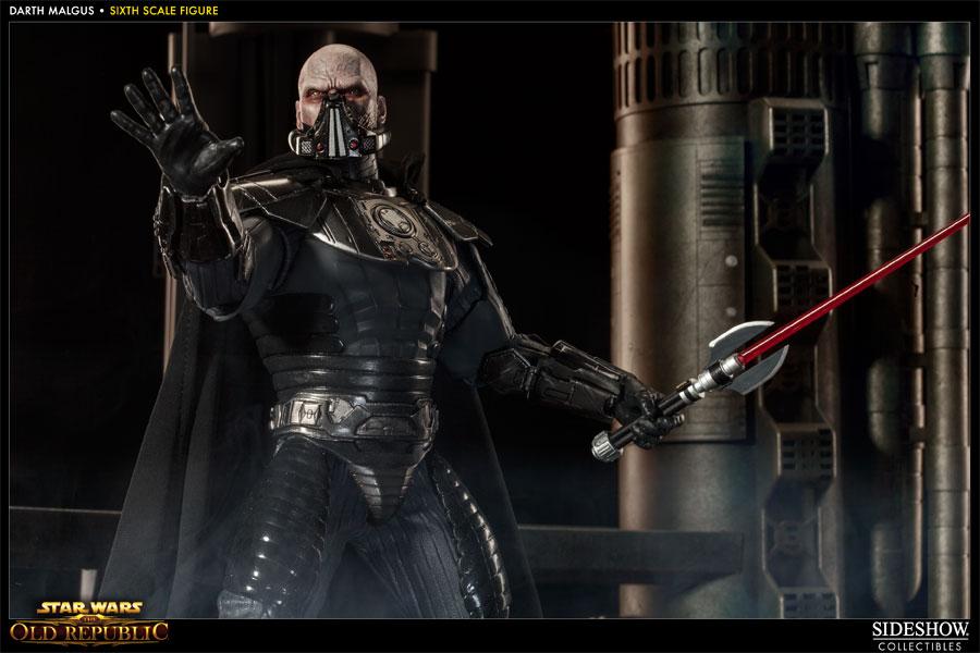 Sideshow's Darth Malgus Sixth Scale Figure - Star Wars Old Republic Darth , HD Wallpaper & Backgrounds
