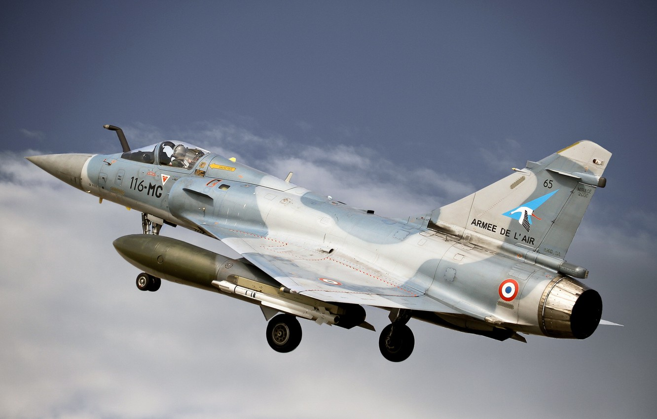 Photo Wallpaper Weapons The Plane Mirage 2000 5fr