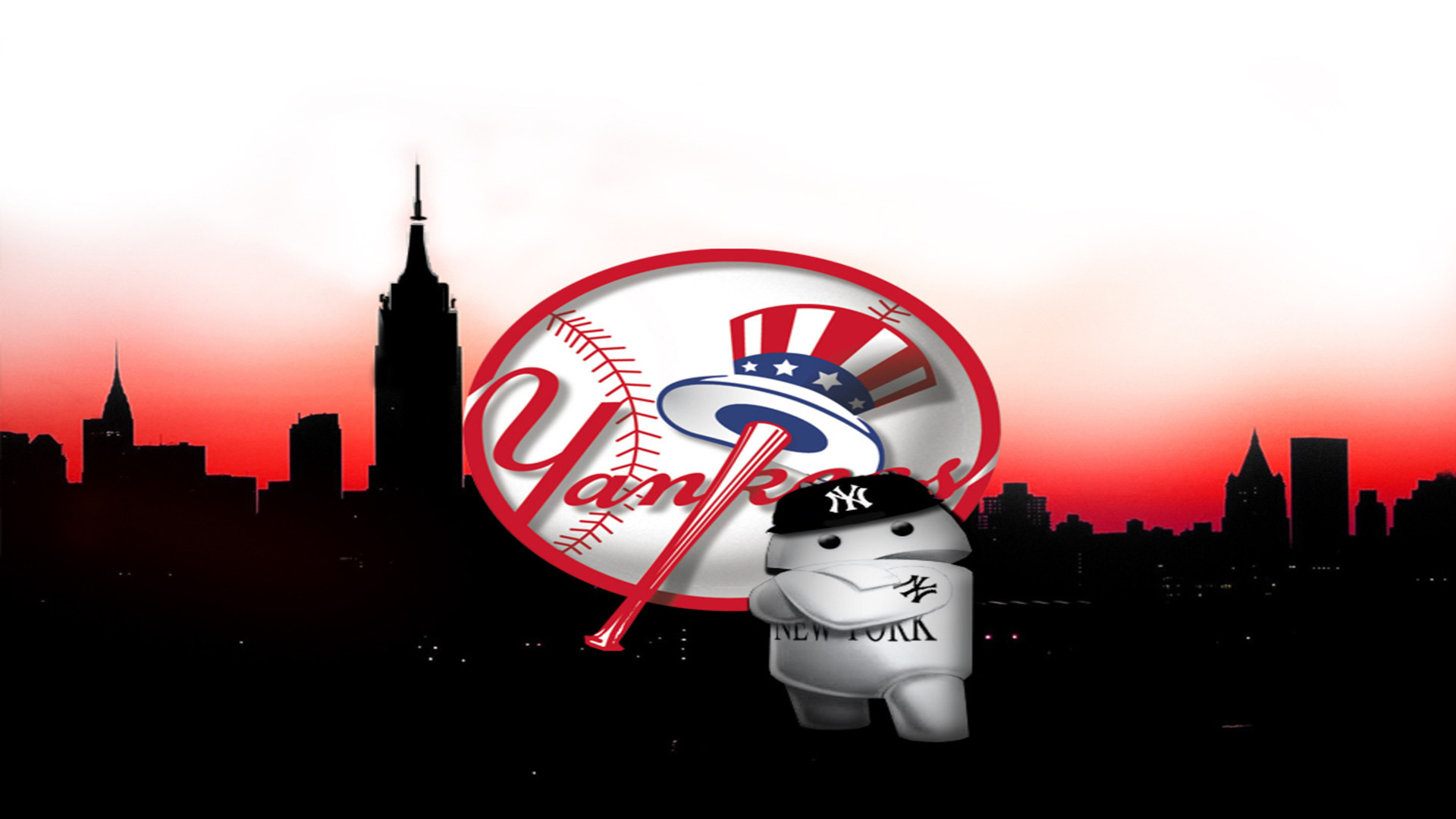 New York Yankees Wallpaper Hd - Yankees New York Wallpapers Hd , HD Wallpaper & Backgrounds