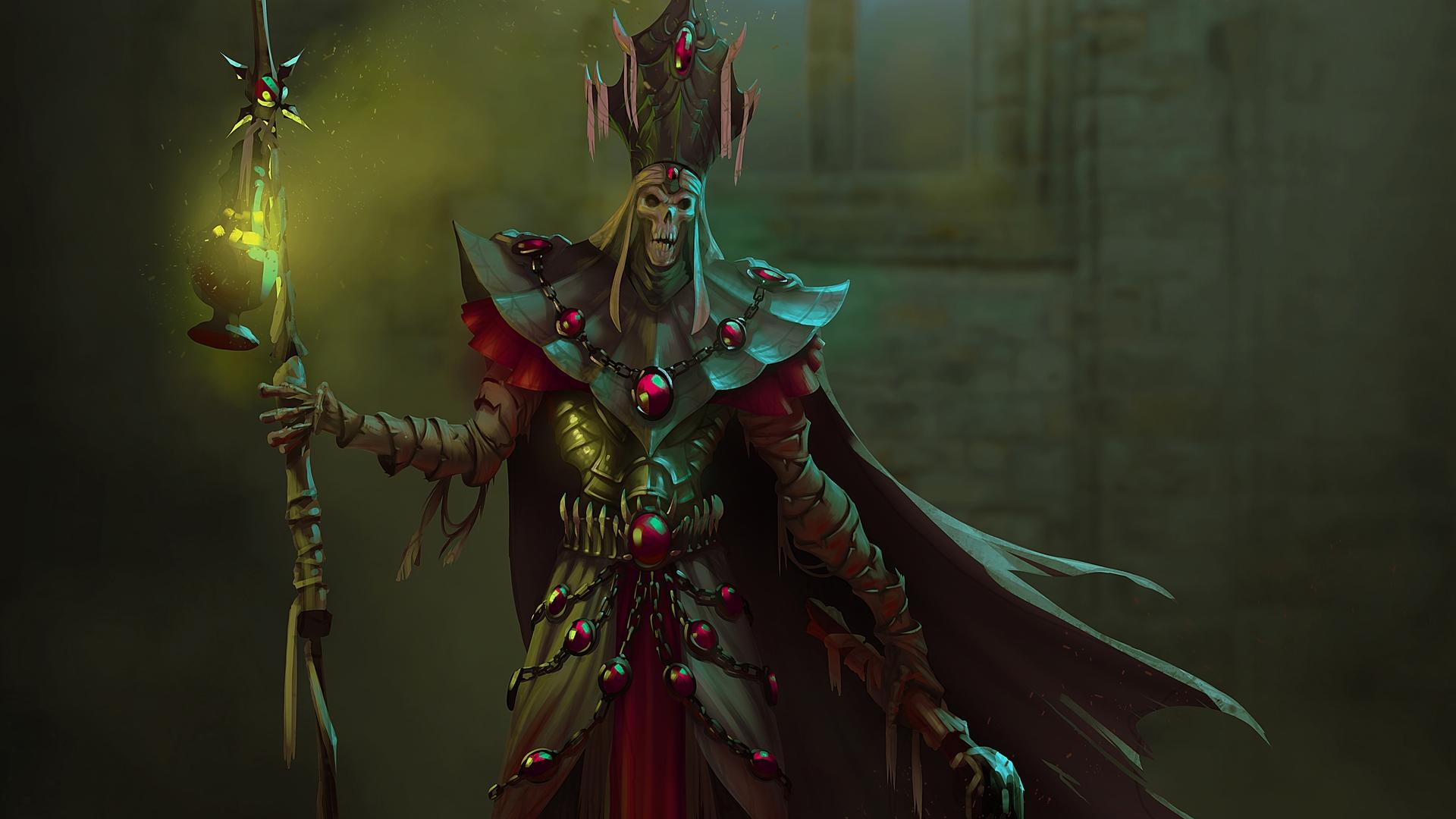 Undead Art Divinity - Divinity Original Sin Lich , HD Wallpaper & Backgrounds