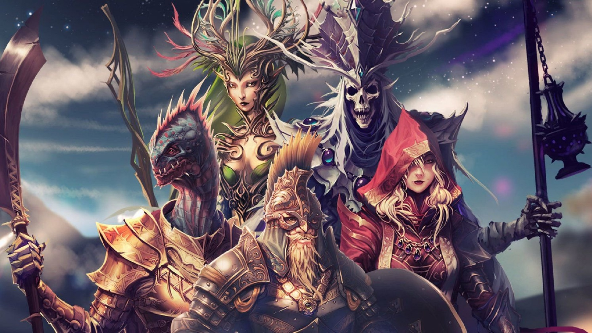 Original Sin - Divinity Original Sin 2 Amadia , HD Wallpaper & Backgrounds