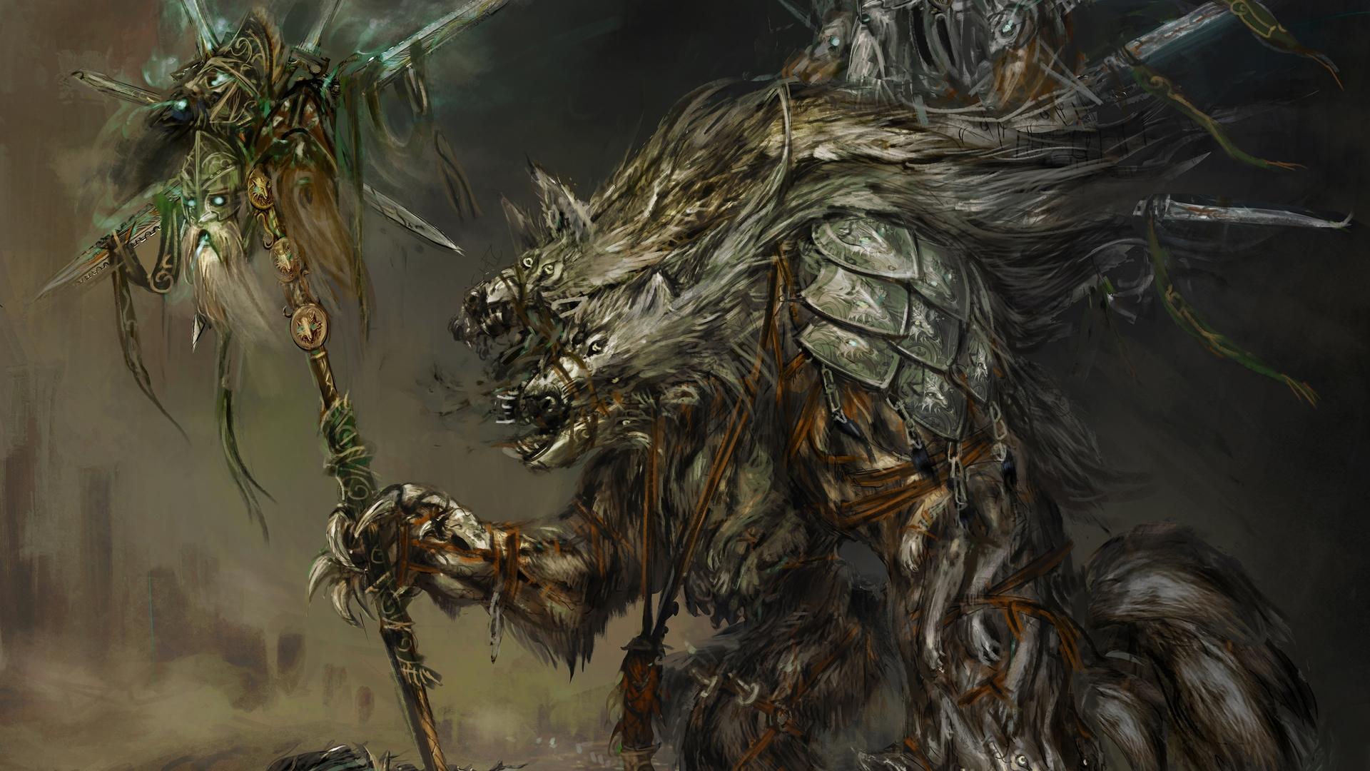 Nightmare Dwarf Divinity - Divinity Original Sin 2 Art , HD Wallpaper & Backgrounds