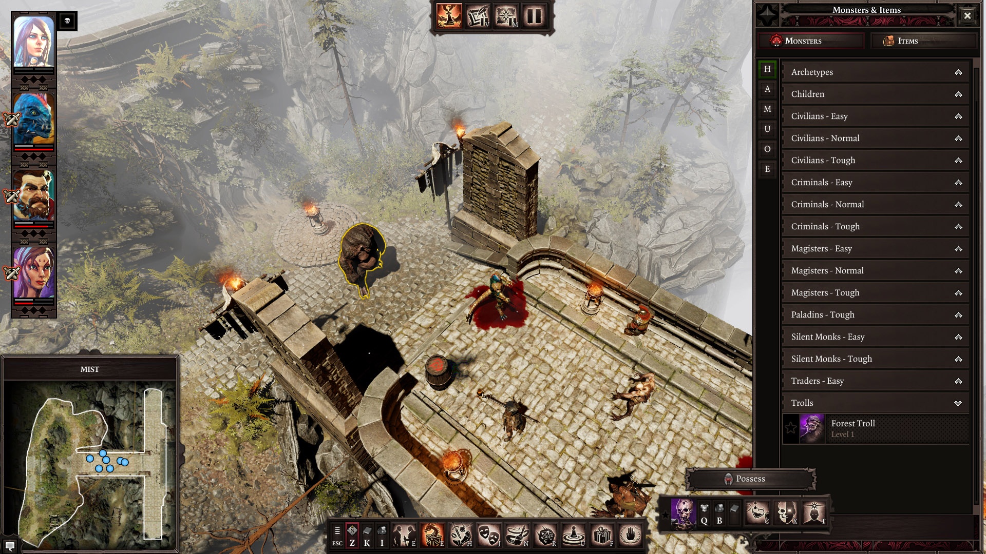 Original Sin 2's Game Master Mode Replicates Dungeons - Divinity 2 Game Master Mode , HD Wallpaper & Backgrounds