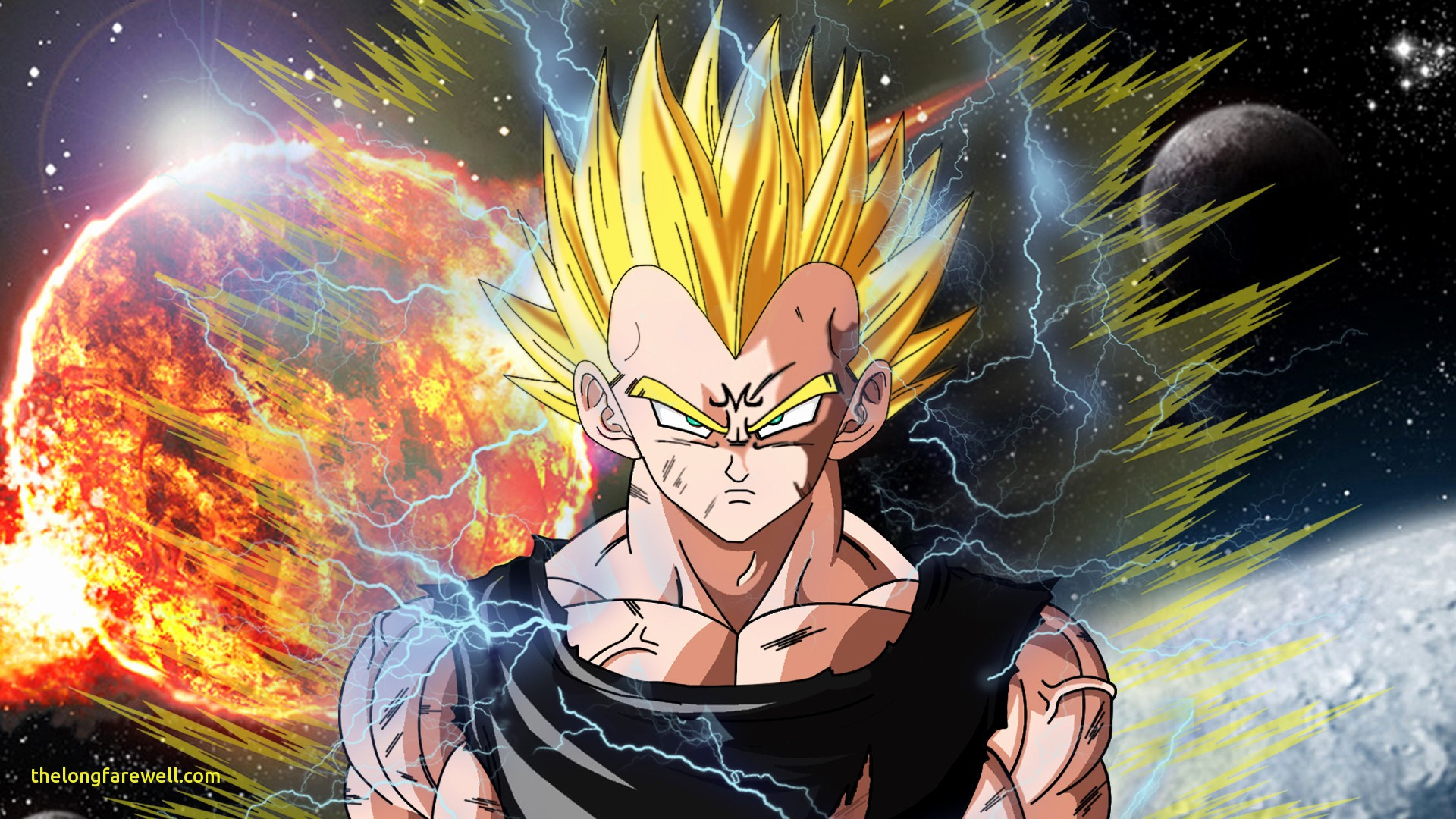 Live Wallpaper Dragonball Dragon Ball Vegeta Hd 1374035 Hd