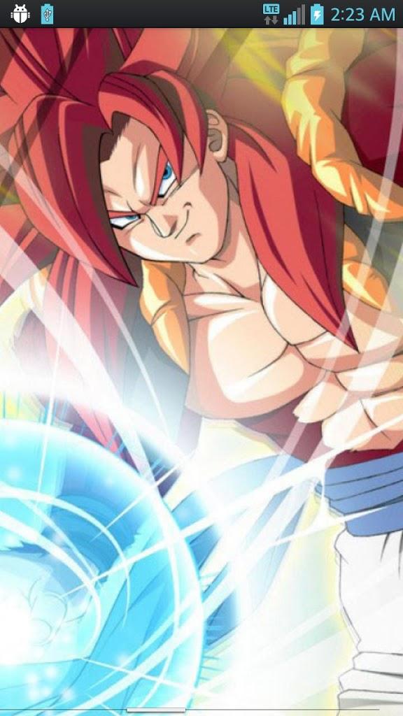 Ssj4 Gogeta Live Wallpaper - Goku Ssj4 Wallpaper Iphone , HD Wallpaper & Backgrounds