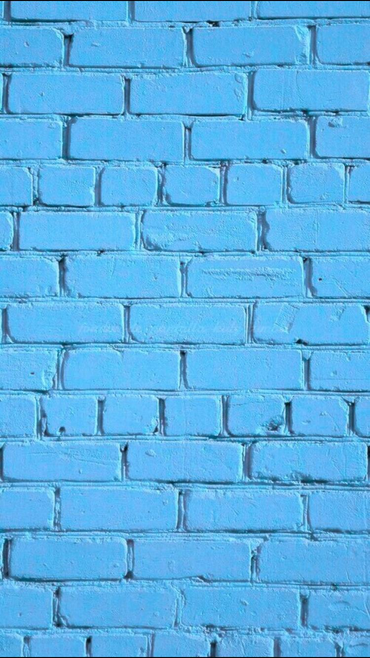 Blue Iphone Wallpaper Tumblr Phone Backgrounds Brick