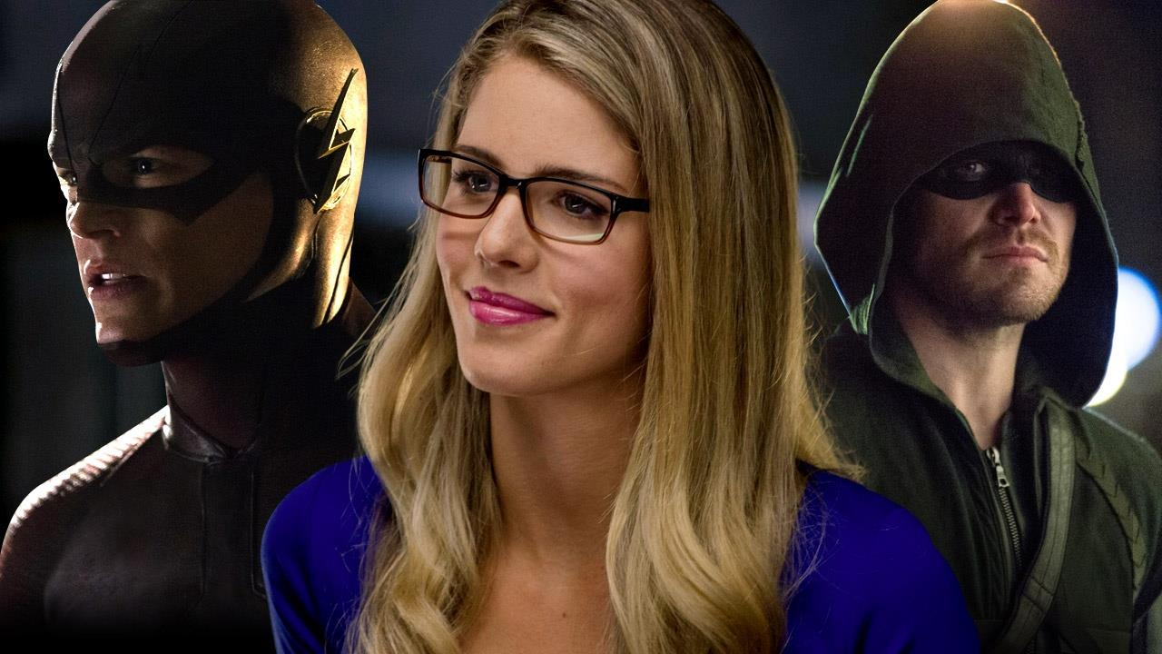 Emily Bett Rickards The Flash Flash Vs Arrow Emily Bett Rickards