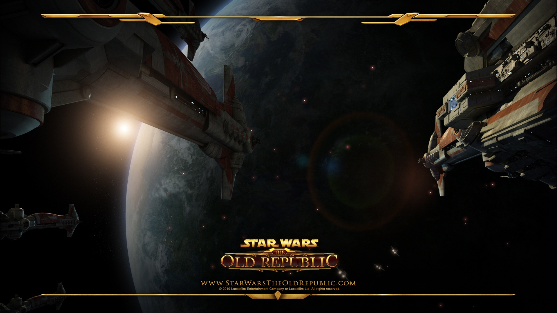 Star Wars The Old Republic Wallpaper Space Battle Old Republic