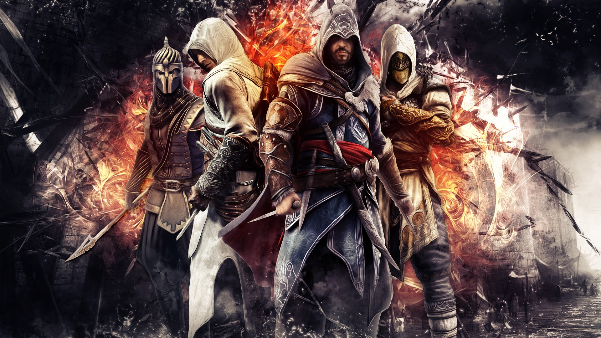 Creed Ezio Altair Wallpaper Hd Imagens Do Assassins Creed