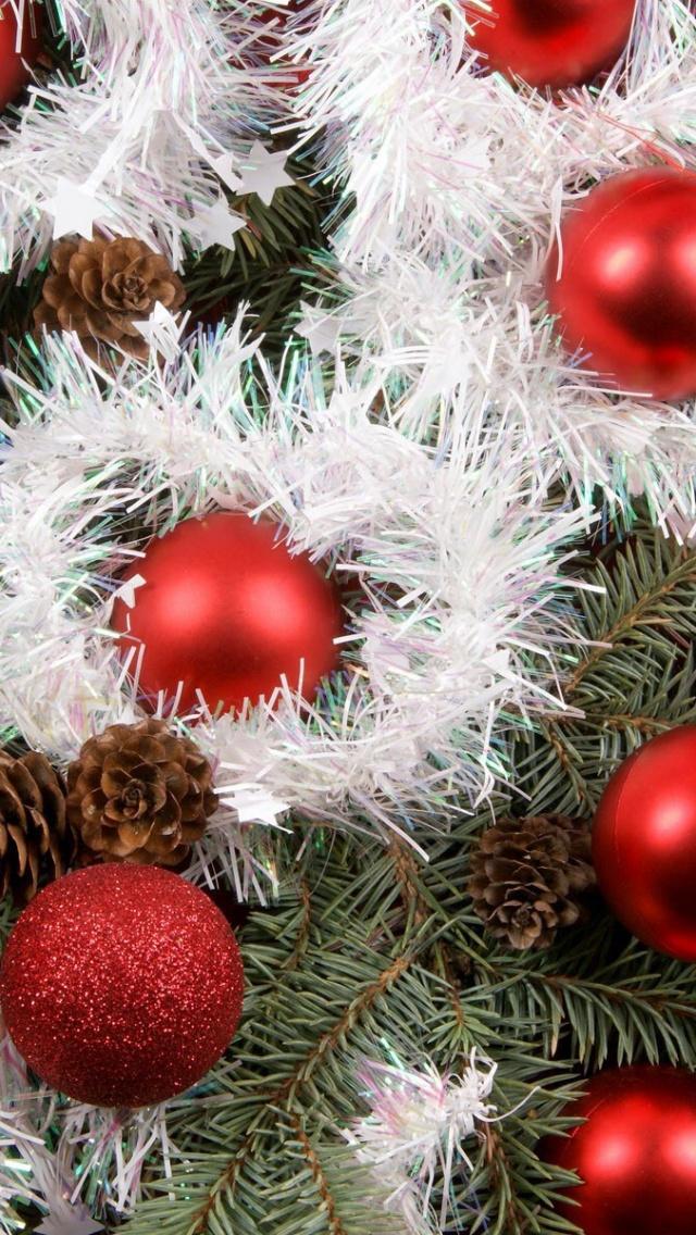 Christmas Tree Wallpaper Iphone (1381744) , HD Wallpaper