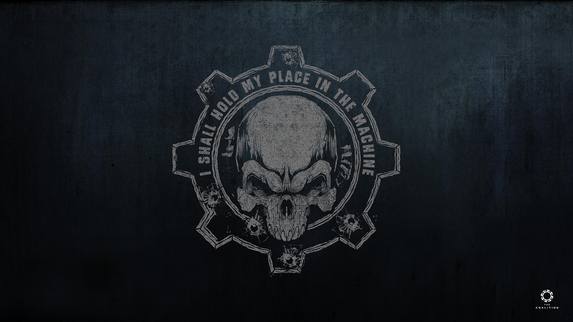 Machina Logos De Gears Of War 1381745 Hd Wallpaper