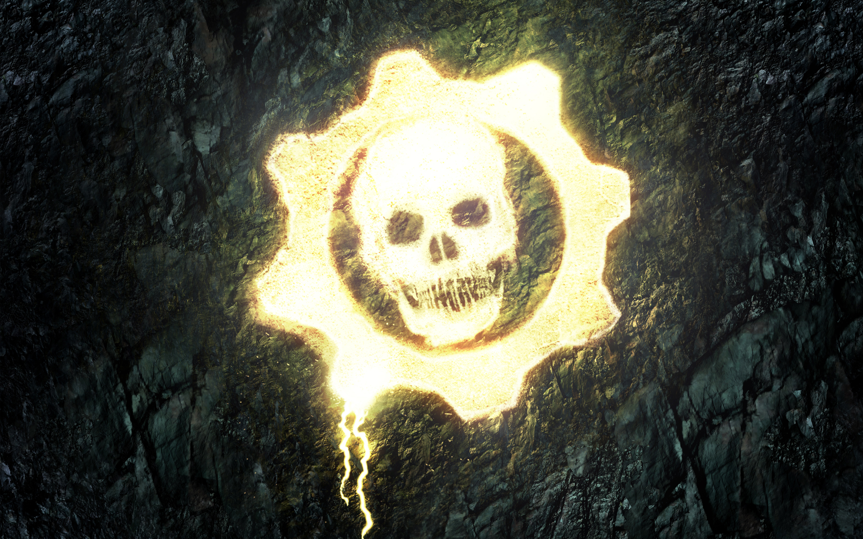 Gears Of War Skull Wallpaper Gears Of War 5 Logo 1382086 Hd