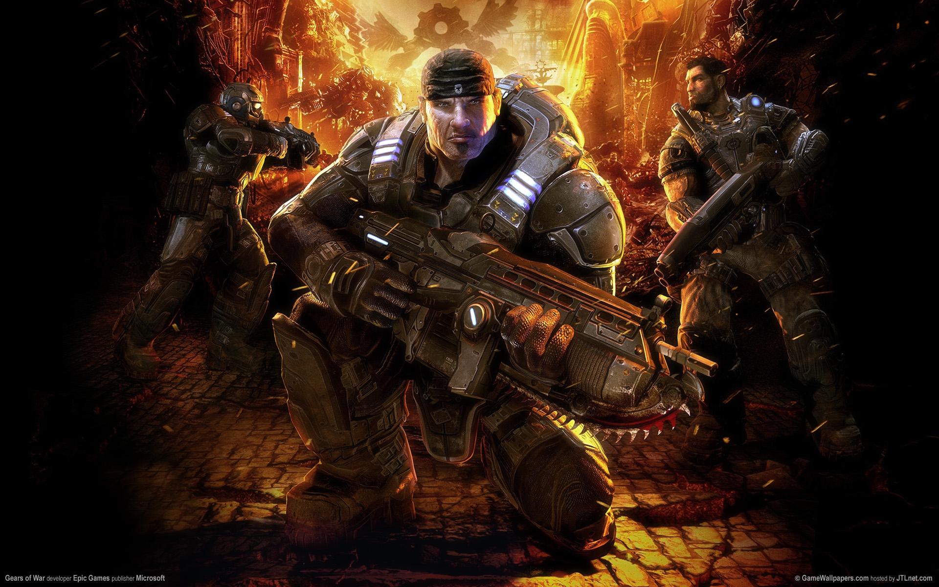 Gears Of War 2 Hd Wallpaper Gears Of War 1 Hd 1382661 Hd
