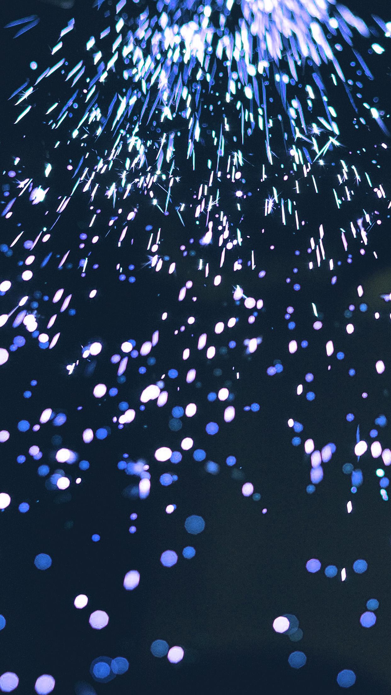 Iphone 7 Plus - Blue Fire Bokeh , HD Wallpaper & Backgrounds