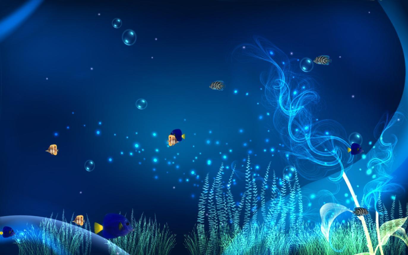 Desktop Fish Tank Wallpaper Animated Dowload - Aquarium Animated Wallpaper Gif , HD Wallpaper & Backgrounds