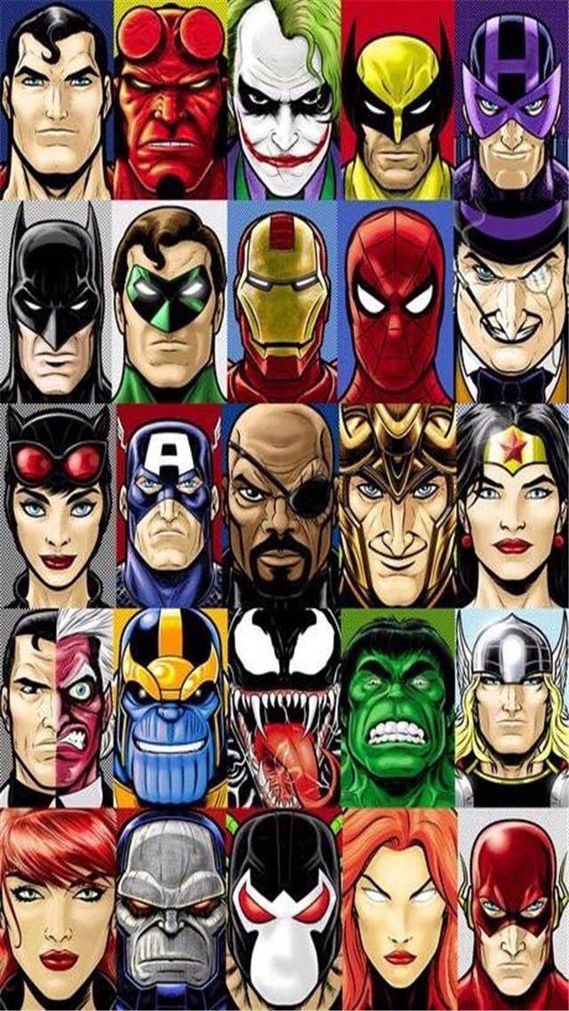 Marvel Dc Wallpaper Marvel Vs Dc Phone 1384311 Hd Wallpaper Backgrounds Download