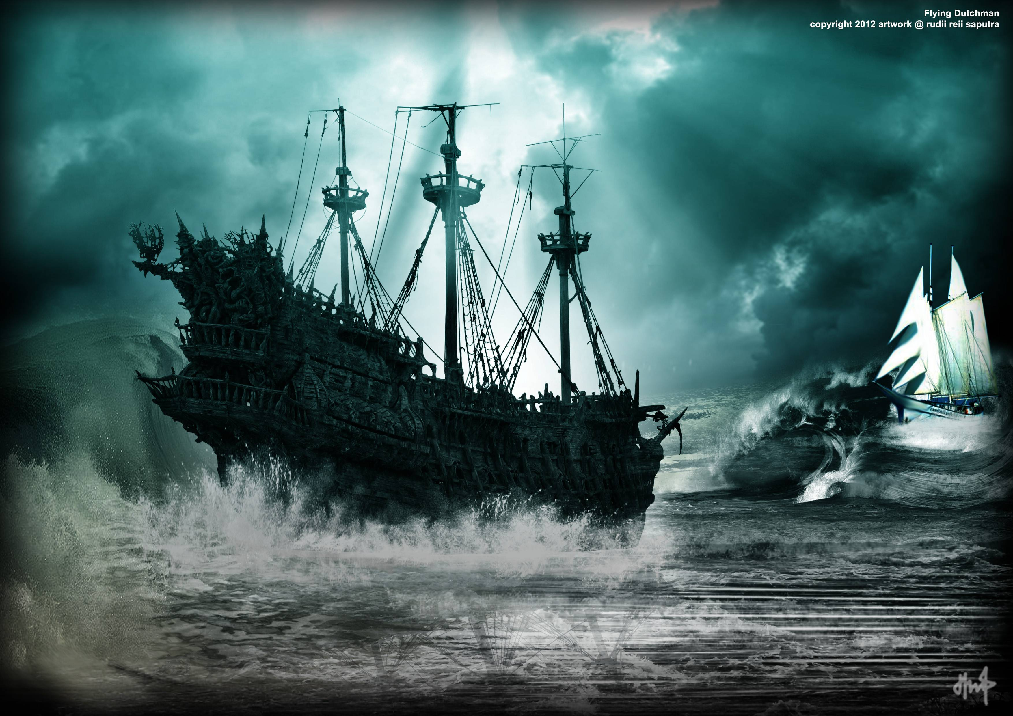 Flying Dutchman Pirates Of The Caribbean 1384913 Hd