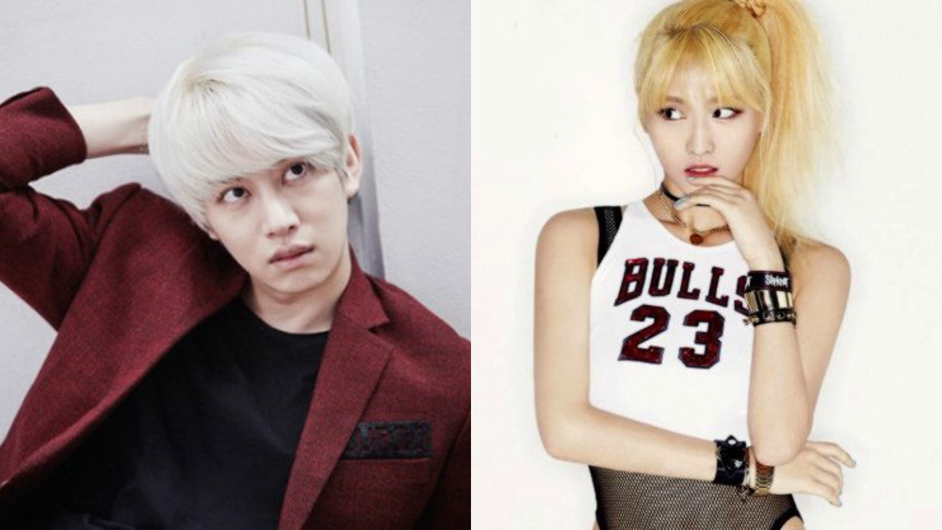 Kim Heechul Says He Can T Fool Twice S Momo On Secretly Momo