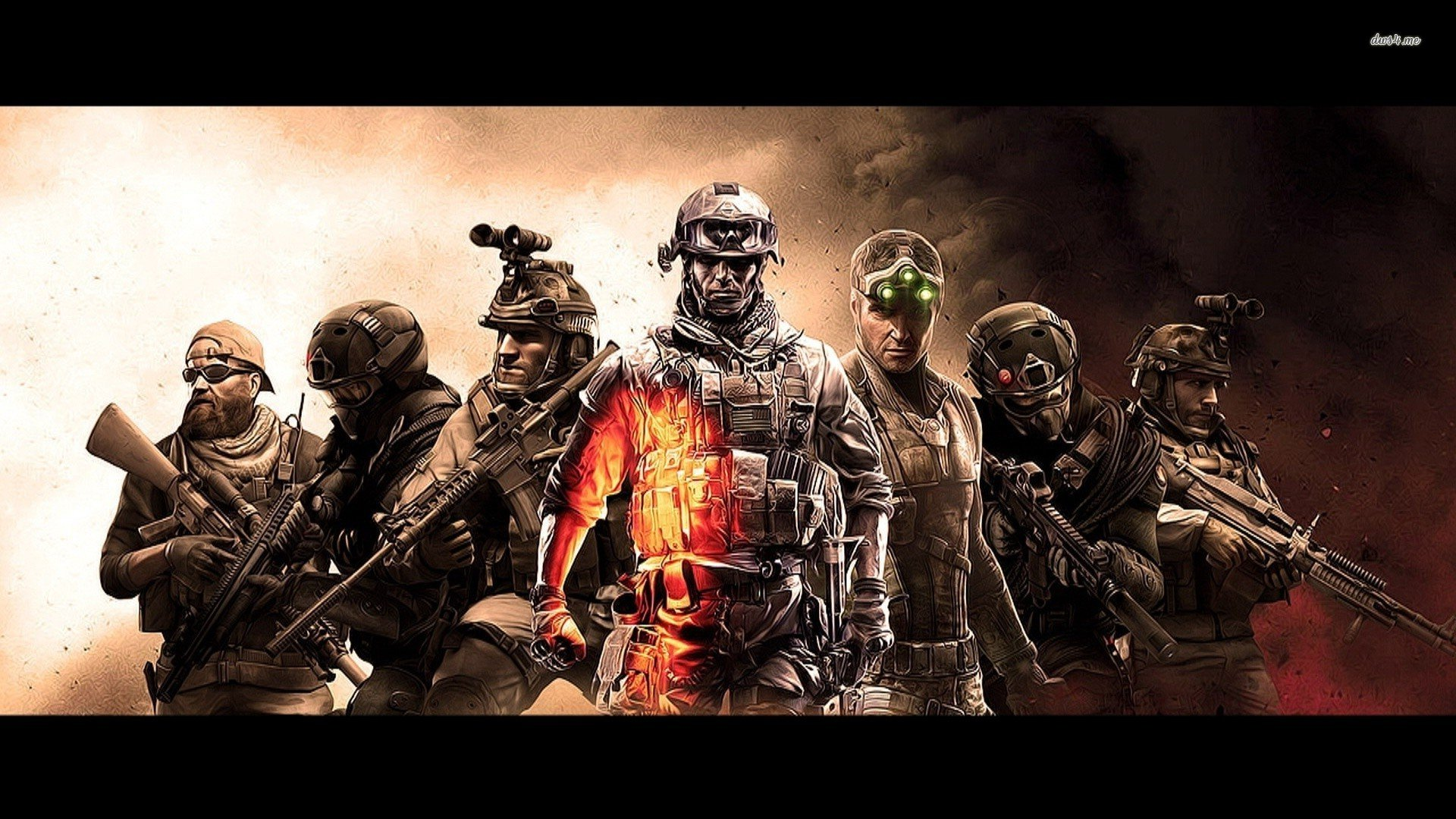 Battle Game Heroes Wallpaper Walldevil Warface Hd