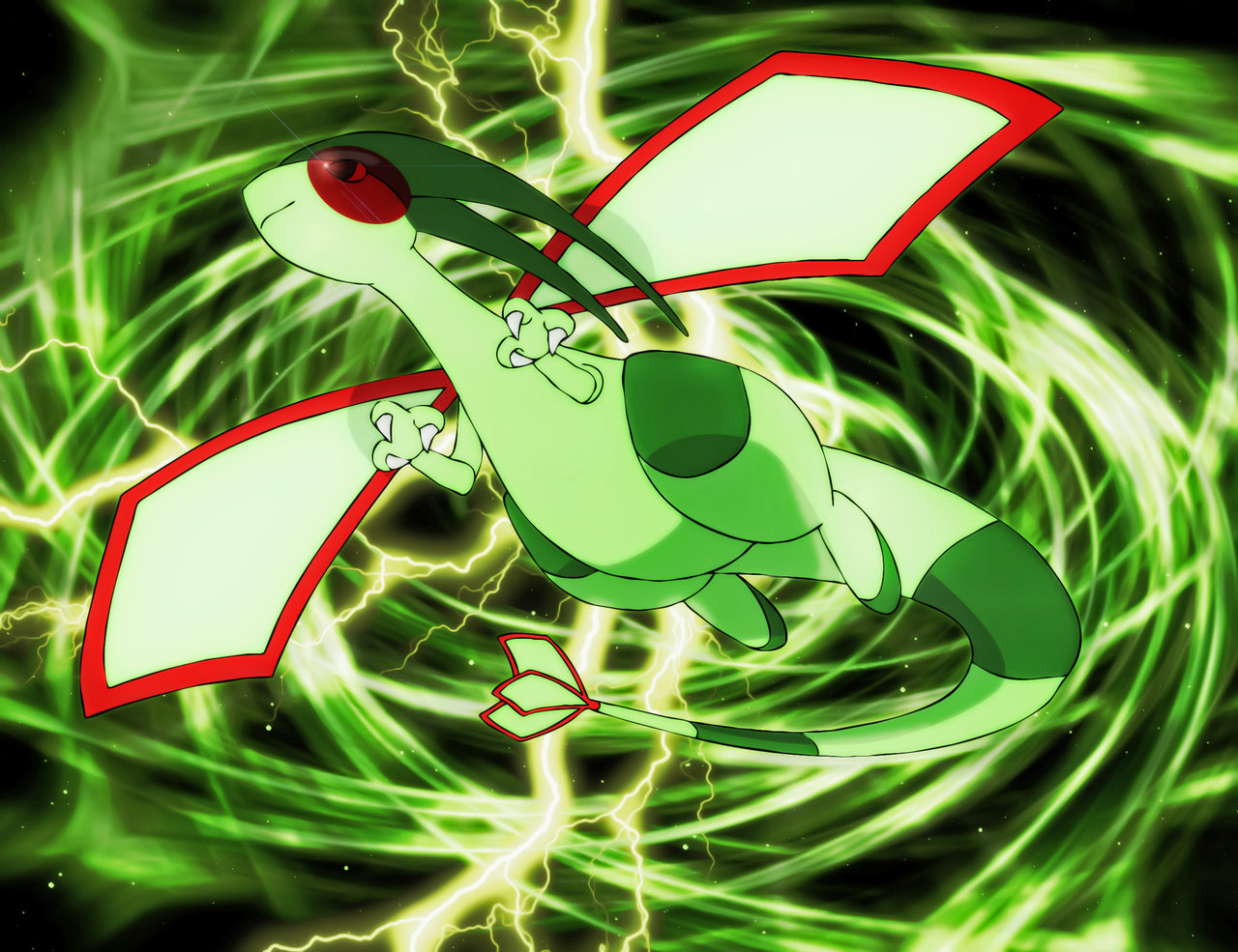 Dragon Type Pokemons Images Flygon Wp Hd Wallpaper Legendary