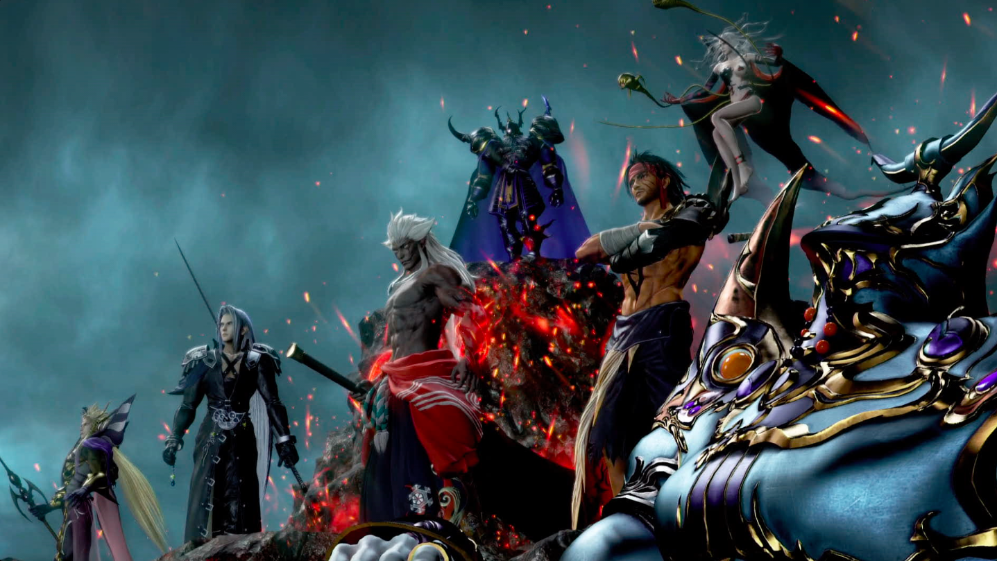 Spiritus And His Warriors Ready For Battle Dissidia Final