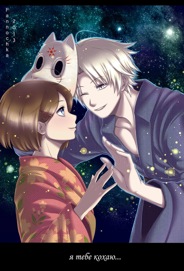 Hotarubi No Mori E Love , HD Wallpaper & Backgrounds