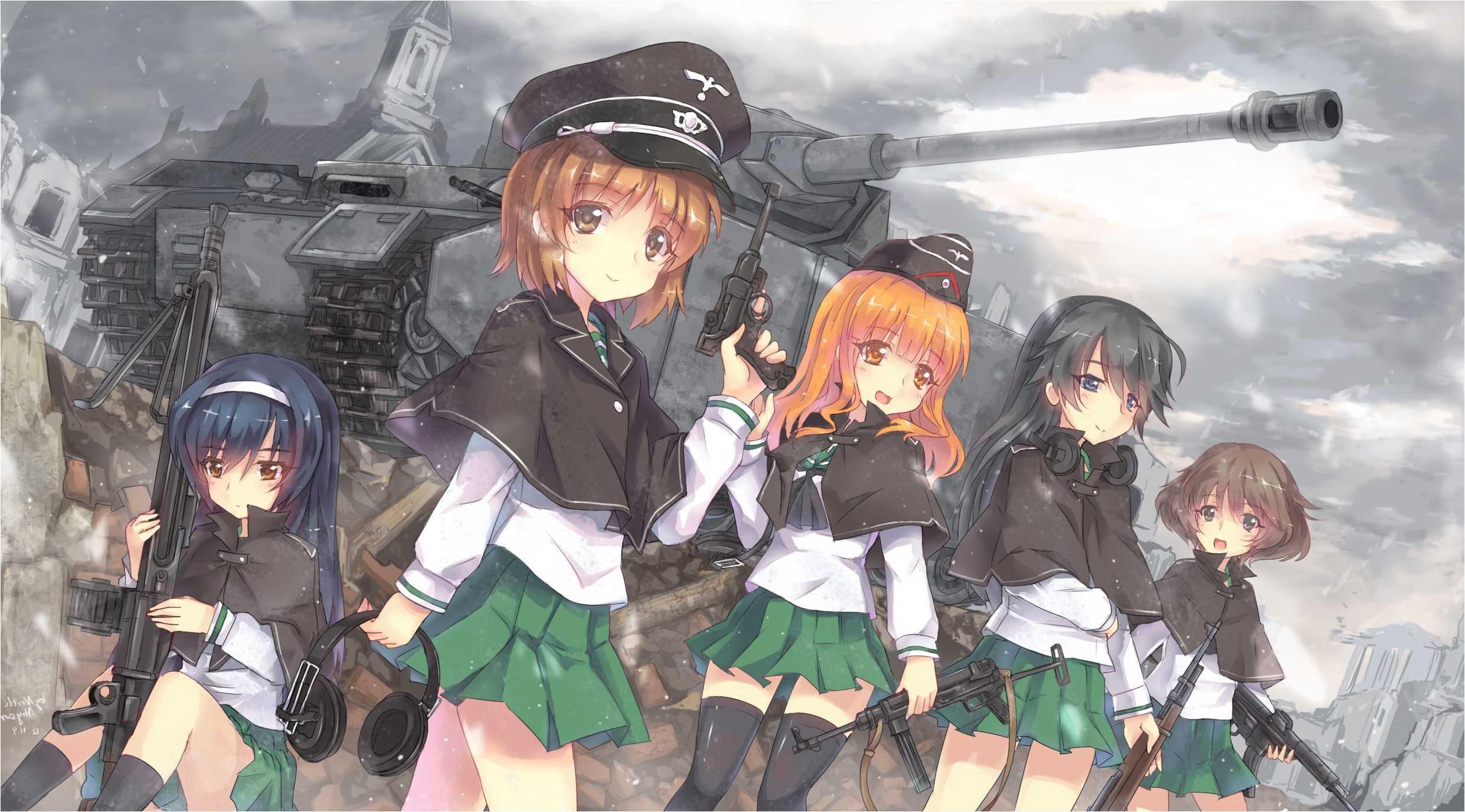 Download In Original Resolution - Girls And Panzer Wallpaper Hd , HD Wallpaper & Backgrounds
