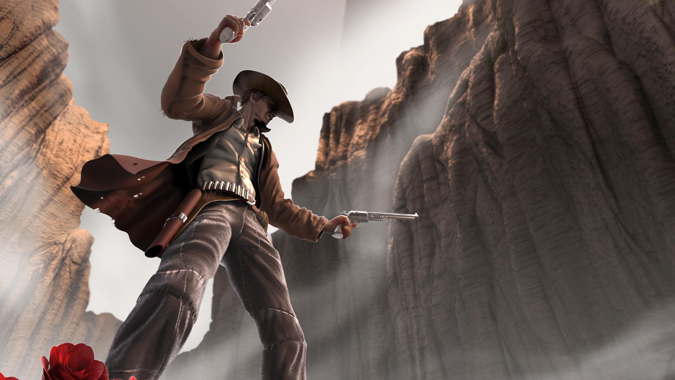Gunslinger Gunslinger Wallpaper Hd 1398076 Hd Wallpaper Backgrounds Download