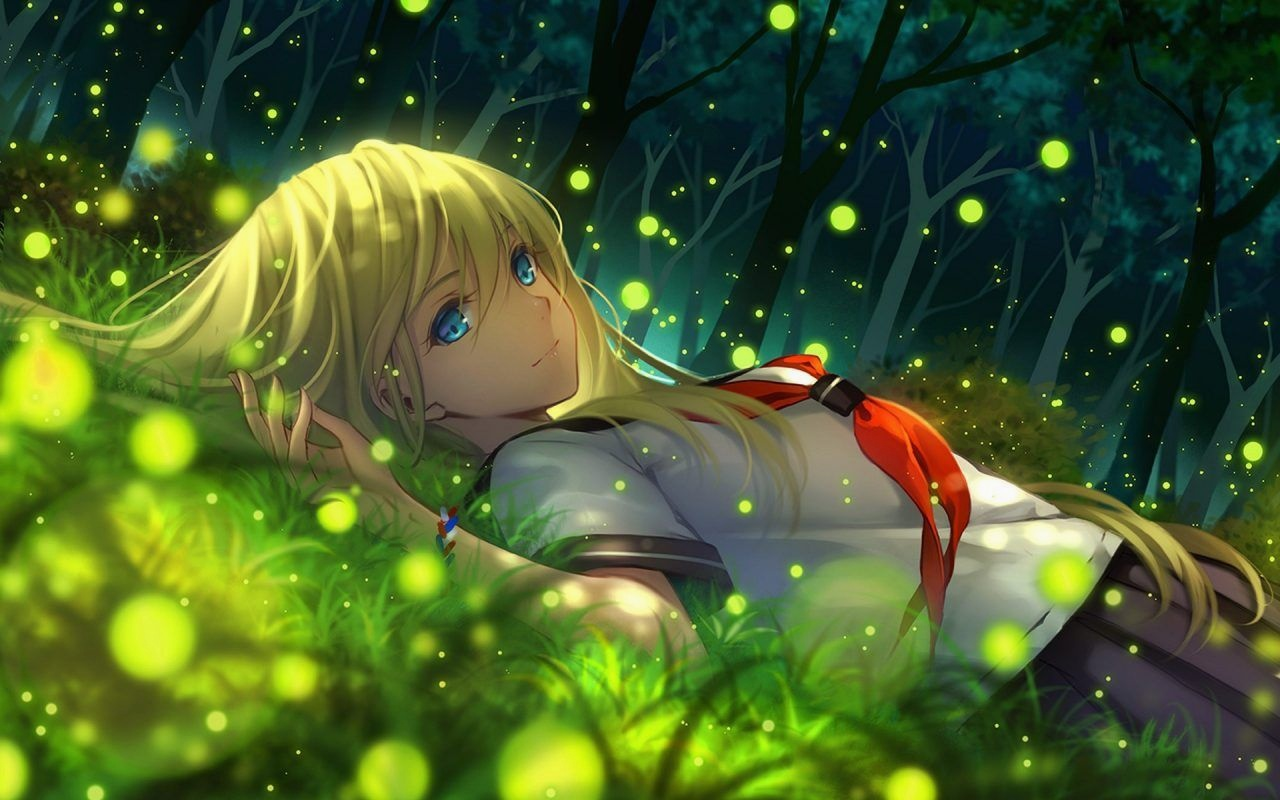 Cute Anime Hd Wallpapers Iphone Anime Girl With Beautiful