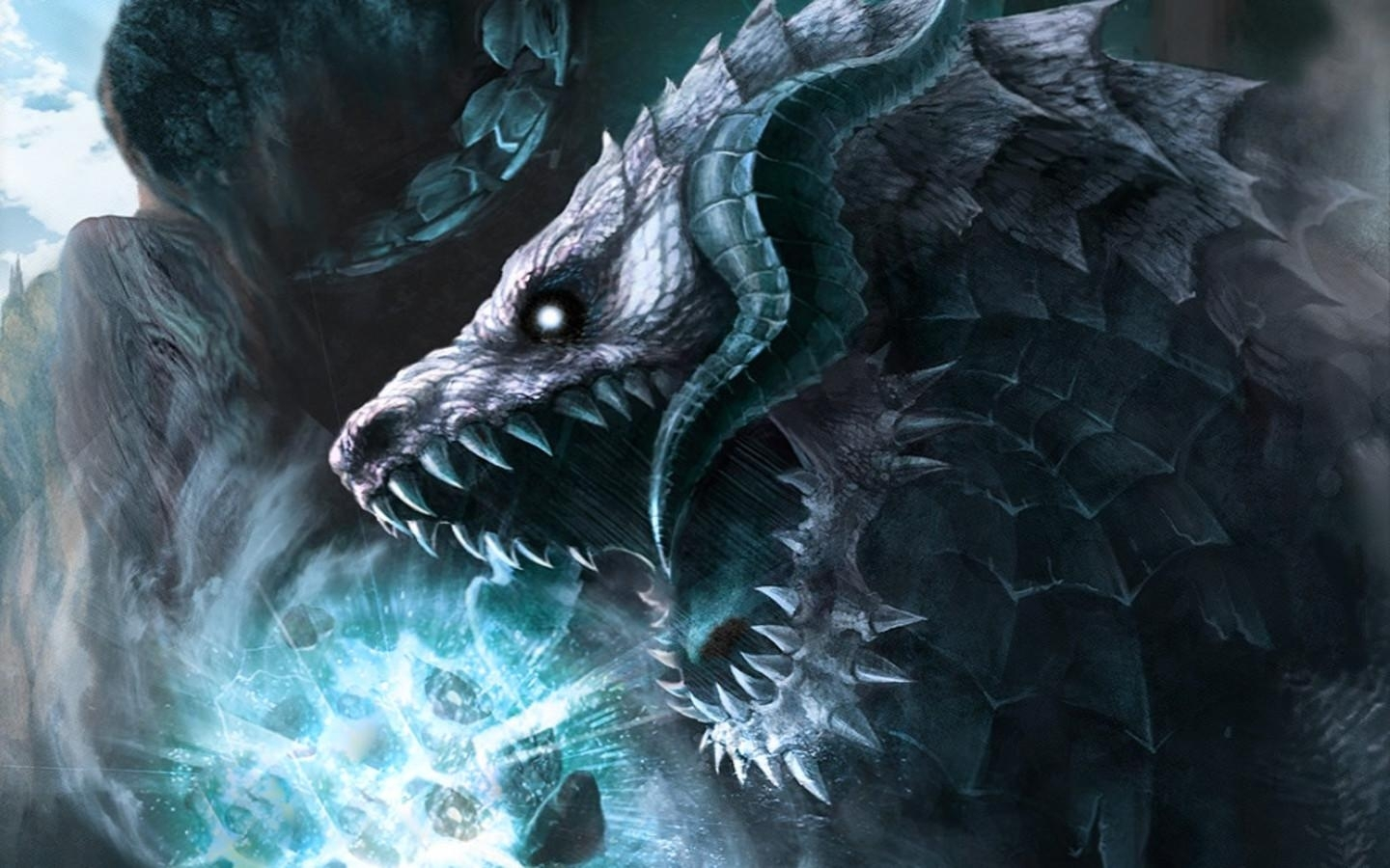 Free Ice Dragon Wallpapers Desktop At Abstract Monodomo Mythical Ice Dragon 140003 Hd Wallpaper Backgrounds Download