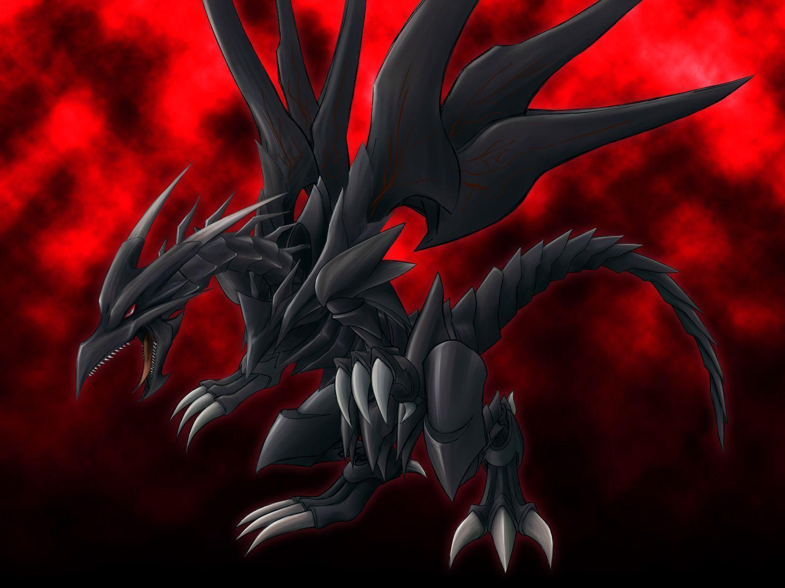 Red Eyes Black Dragon Wallpaper Red Eyes Black Dragon 3d