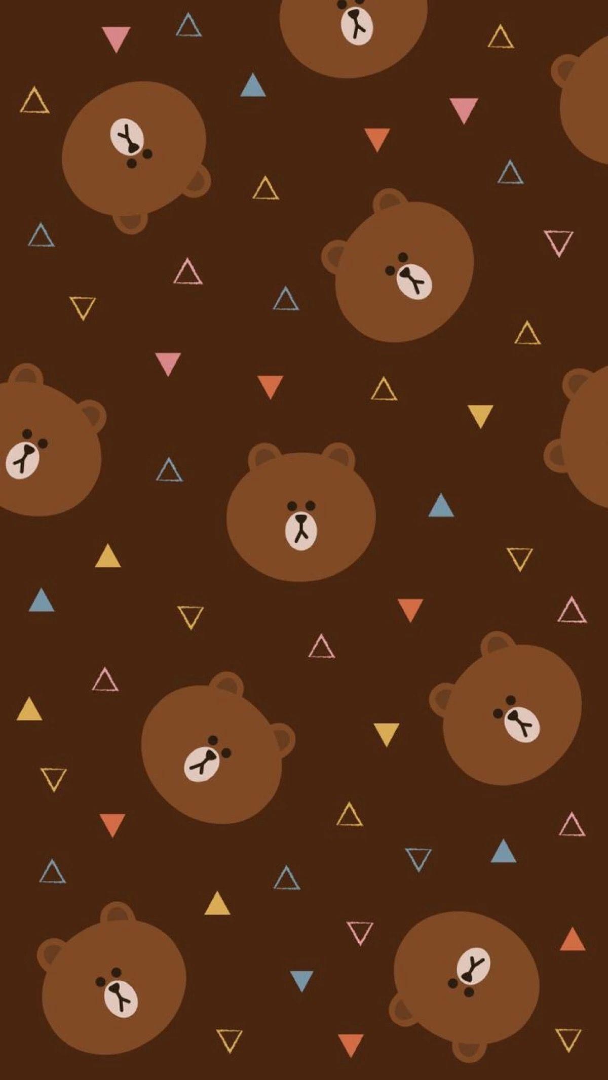 70537636 - Line Brown Wallpaper Line , HD Wallpaper & Backgrounds