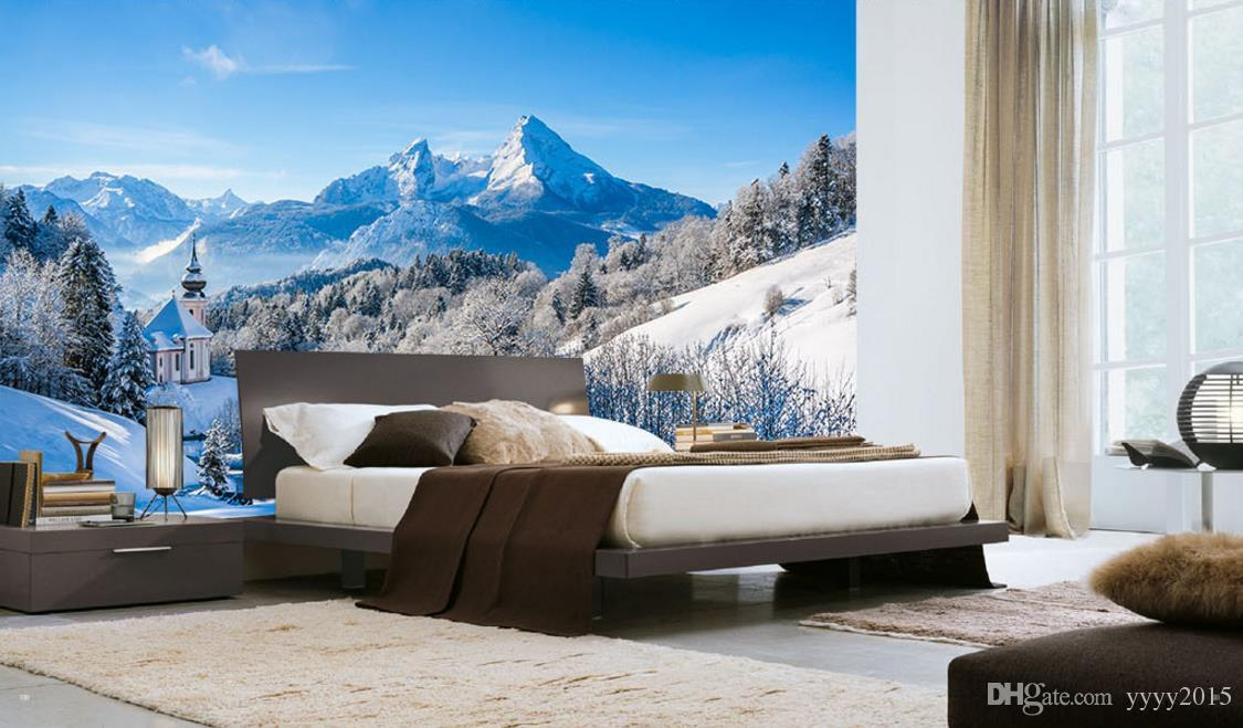 Wallpaper White 3d Nature Wallpapers Nordic Snow Capped - Winter Scenery , HD Wallpaper & Backgrounds