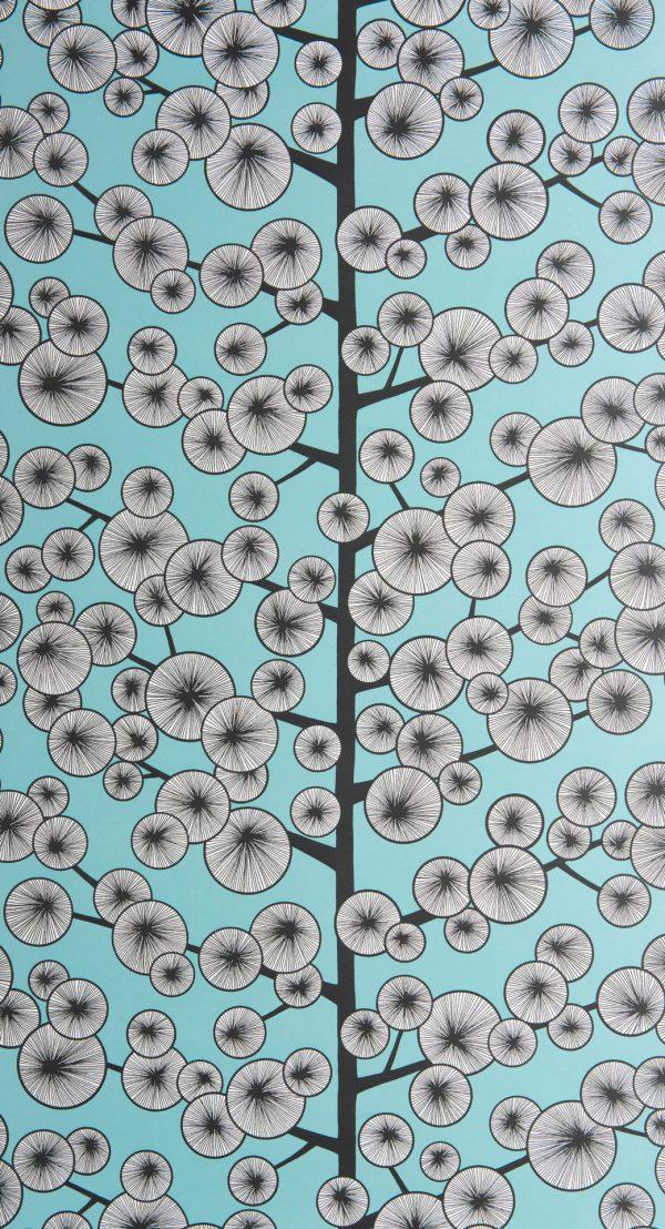 Cotton Tree Sky Blue Wallpaper - Missprint Cotton Tree , HD Wallpaper & Backgrounds