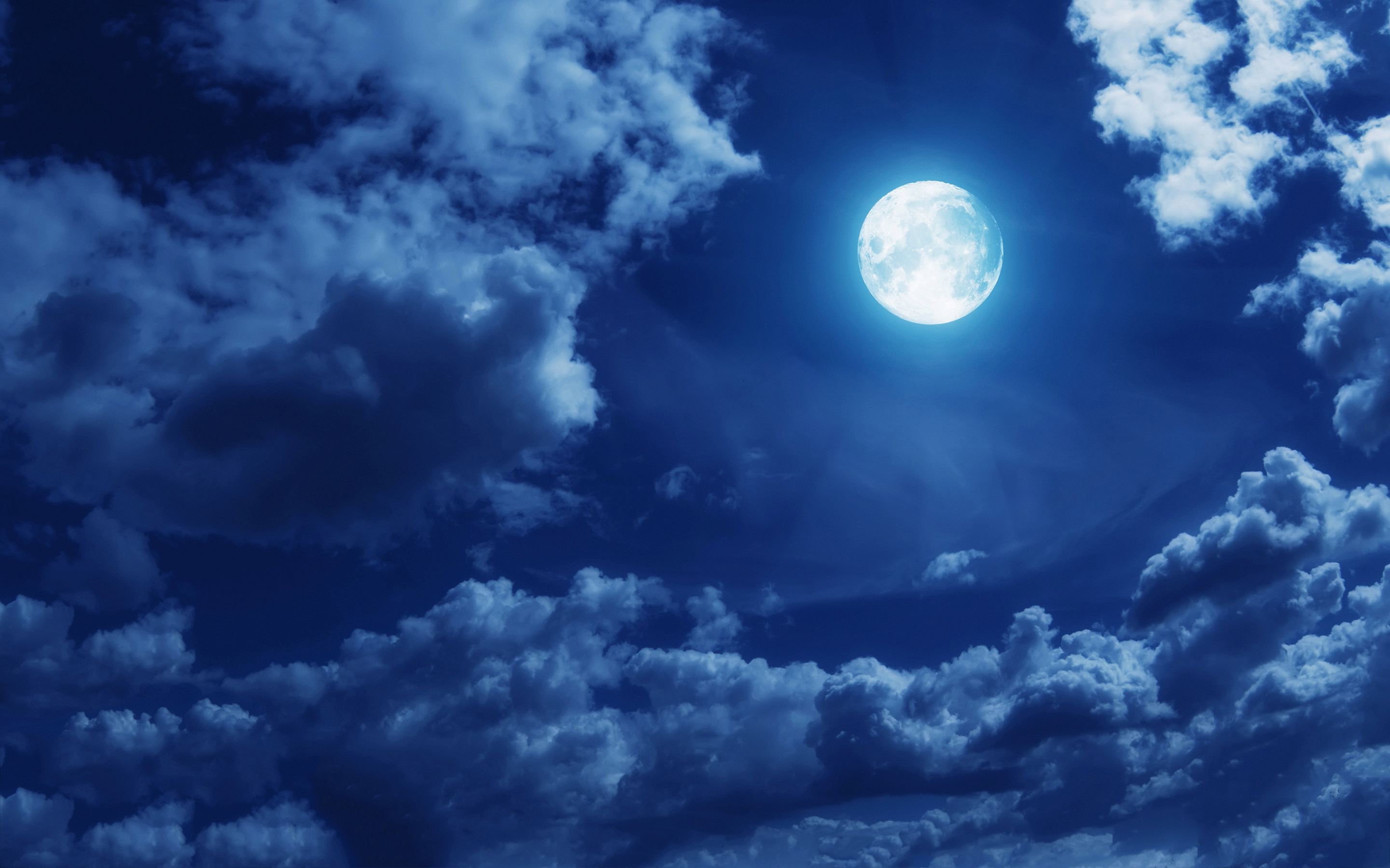 Download - Full Moon Anime Background , HD Wallpaper & Backgrounds