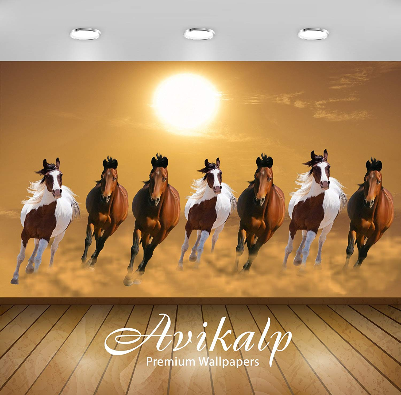 Seven Running Horse Wallpaper Group Running Horses Images Hd