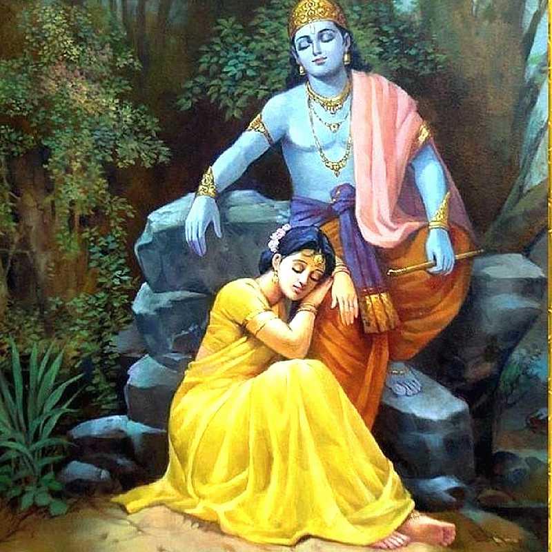 Radha Krishna Love Wallpapers Free Download Radha Missing