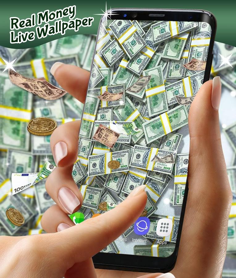 Real Money Live Wallpaper For Android Smartphone 145481