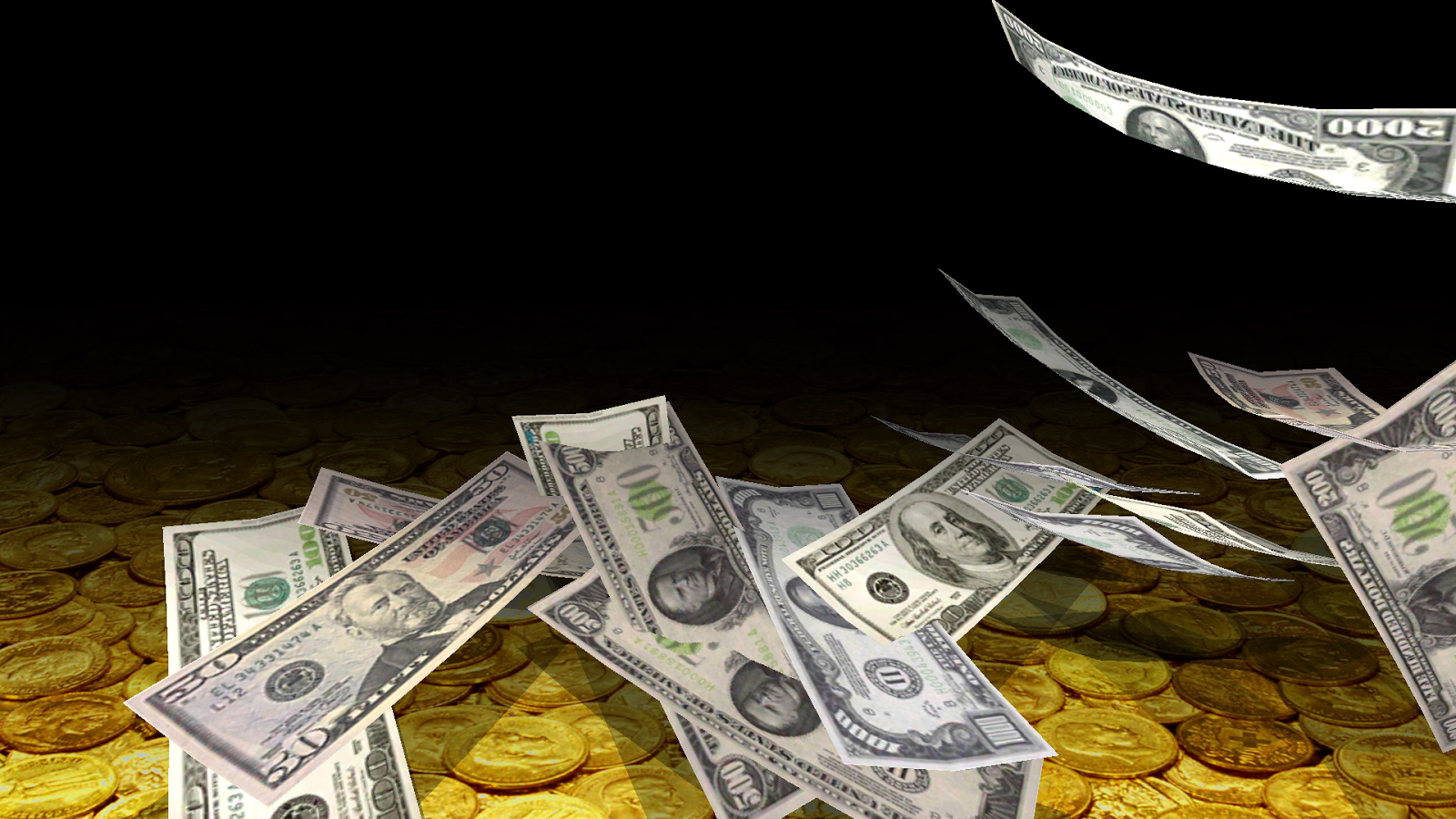 Falling Money 3d Live Wallpaper Falling Money 3d Live