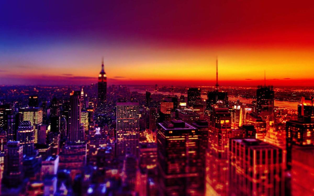 Hình Nền Thành Phố Đẹp - Night City Wallpaper Hd , HD Wallpaper & Backgrounds